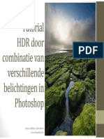 Tutorial HDR Exposure Blending Dama NL Rev A
