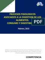 Procesos Digestivos en Los Animales Consumo y Digestibilidad 2015