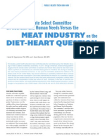 Meat Industry and Diet-Heart Question