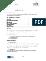 Customer Care Role Play
