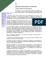 A DIMENSÃO DA COMPETÊNCIA PROFISSSIONAL DO PROFESSOR