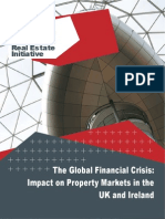 Real estate Global financial Crisis