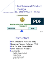 Chem Product Design Introduction PPT