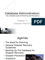 Disaster Planning Ch 17