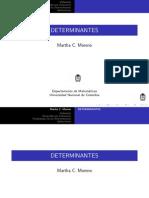 Clase 4 Determinantes