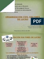 Organización Civil Sin Fines de Lucro...