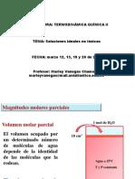 Clase 3a. Clase Magnitudes Molares Parciales