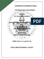 Circuito diodo con carga RC y RL