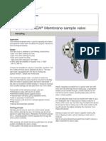SCANDI BREW® Membrane sample valve