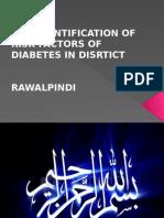 Risk Factors of Diabetes