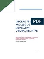 Informe Final Del Proceso de Inspeccion