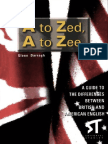 A To Zed - A To Zee - Differences Between British And American English.pdf