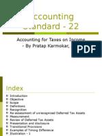 Accounting Standard - 22