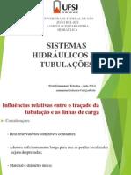 Aula 01-Sistemas Hidráulicas de Tubulações_2015_I