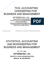 Accounting and Bookkeeping for Business and Management 13 October 1234091669363945 3