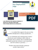 Qfd in Product Design