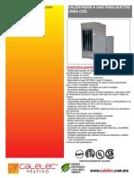 FichaTecnica Calentador a Gas Para Ducto Linea CDG 2013 1