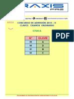 Claves Area b Ordinario 2015 - II Cívica