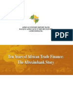 10 Years African Trade Finance