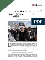 La Jornada- Charlie Hebdo- Una Reflexión Difícil