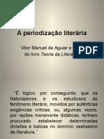 A Periodização Literária