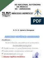 ABSCESO HEPÁTICO AMIBIANO