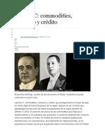 Las Tres C- Commodities - Consumo - Crédito - Limites Inclusión Social - Rol Brasil en El Mundo y Latinamerica - Fontevechia - Predicción Sobre Elecciones