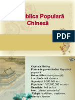 242430312 Republica Populara Chineza Ppt
