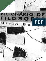 Bunge Mario Dicionario de Filosofia Edit