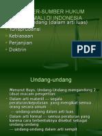SUMBER-SUMBER HUKUM (FORMAL) DI INDONESIA.ppt