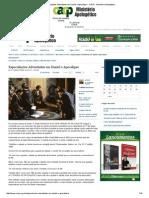 Especulações Adventistas Em Daniel e Apocalipse - CACP - Ministério Apologético