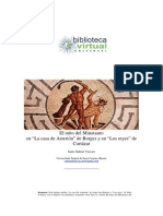 Analisis de Los Reyes de Cortazar y La Casa de Asterion de Borges