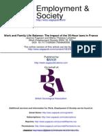 Work Employment Society 2004 Fagnani 551 72