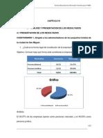 Analisis y Presentacion de Resultados IV