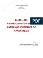 El Rol Del Tutor Virtual