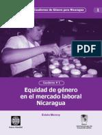 Cuaderno 1 Mercado Laboral Nicaragua