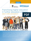 Franchising Higher Education - Parry_brochure2010