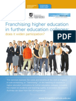 Franchising Higher Education - Parry_brochure2010