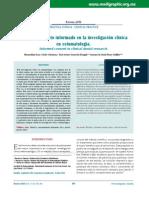 El Consentimiento Informado en La Investigación Clínica en Estomatología. Od146h