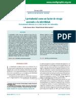 Enfermedad Periodontal Como Un Factor de Riesgoasociado a La Infertilidadod141c