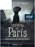 Invierno en Paris - Imogen Robertson