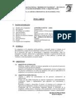 SyllabusConstruccion II 2013