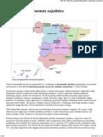 Španjolske Autonomne Zajednice - Wikipedija
