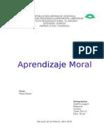 Aprendizaje Moral