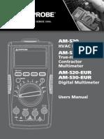AM 520 530 AM 520 530 EUR Manuals Multi Low
