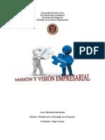 Mision y Vision Empresarial