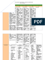 Cartel de secuencias  para computación