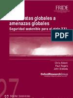 Respuestas Globales a Amenazas Globales