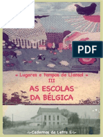Uma nova geografia - As escolas da Bélgica