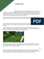 Minecraft. Guia De Construccion